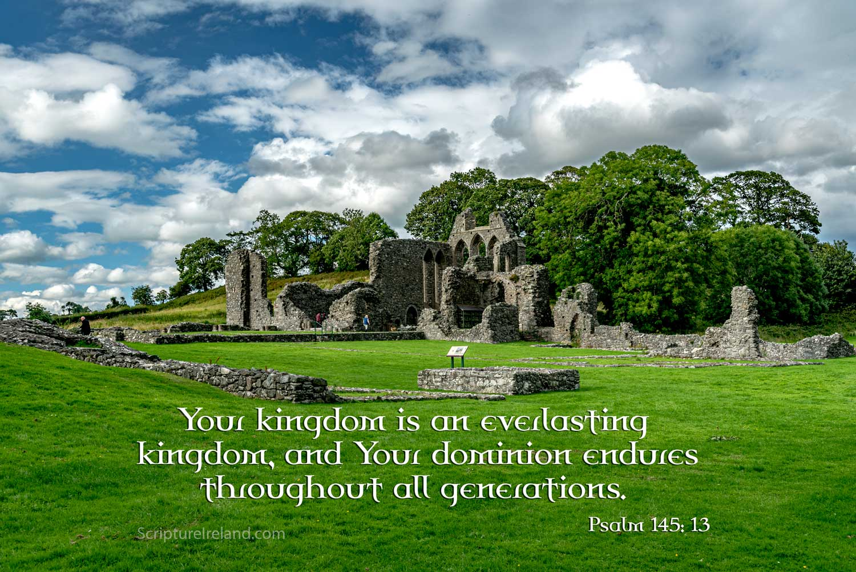 Inch Abbey, Downpatrick, County Down - former Cistercian Abbey