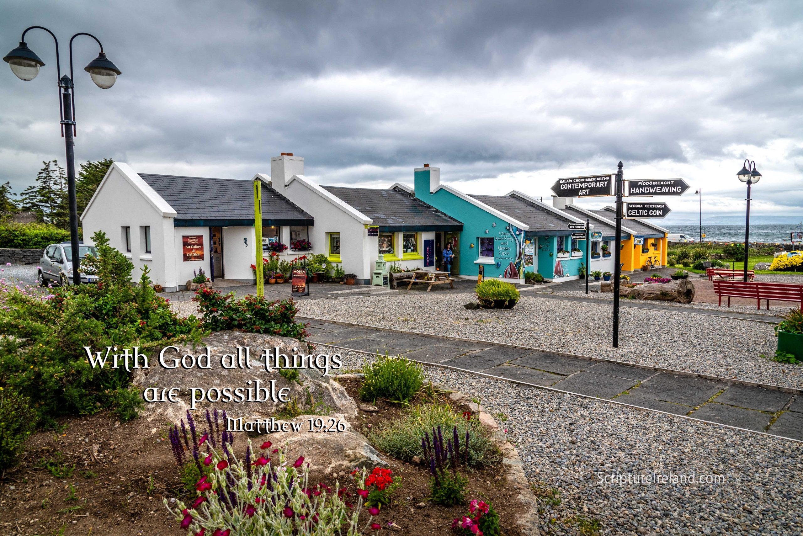 Spiddal Craft Village, County Galway