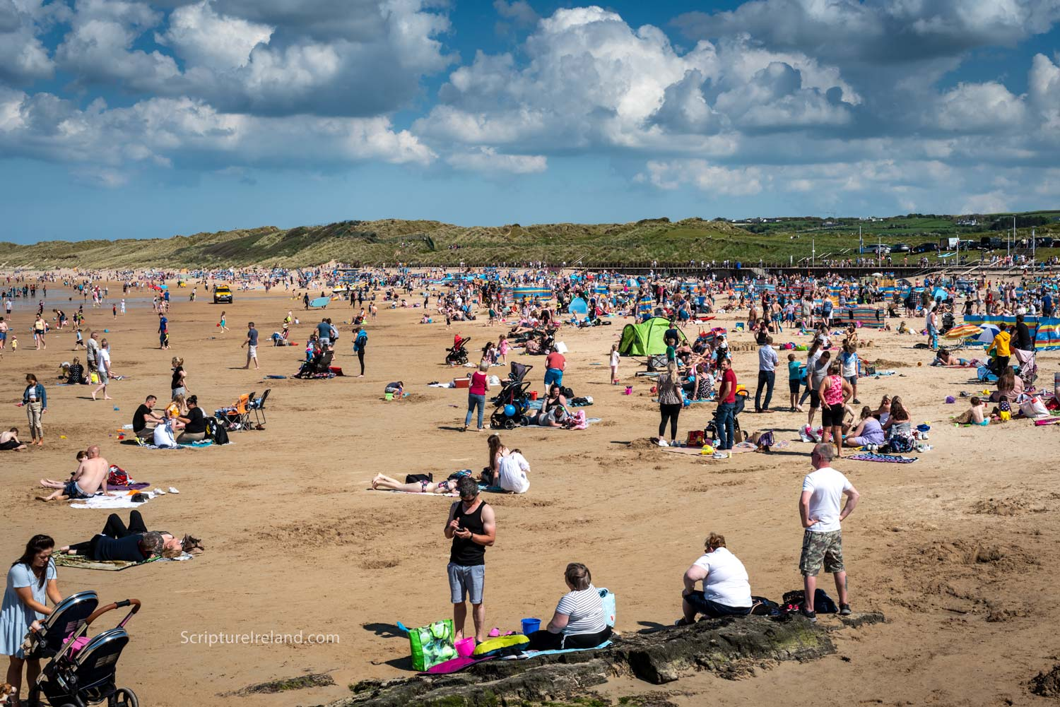 Portrush East Strand is just one of a number of beaches along this northern stretch of coastline.